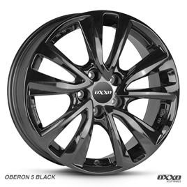 FELGI OXXO OBERON 5 BLACK 6,5x16 5x114,3 ET38