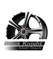 felgi momo black knight matt black