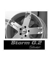 felgi momo storm g.2 g2 silver